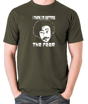 Fear and Loathing in Las Vegas - Dr Gonzo, I Think I'm Getting The Fear - Men's T Shirt - olive
