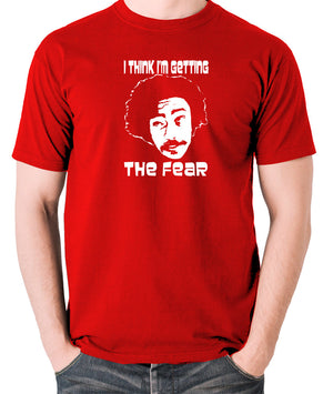 Fear and Loathing in Las Vegas - Dr Gonzo, I Think I'm Getting The Fear - Men's T Shirt - red
