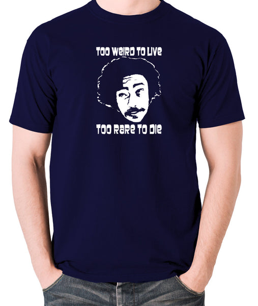 Fear And Loathing in Las Vegas - Dr Gonzo, Too Weird To Live - Men's T Shirt - navy
