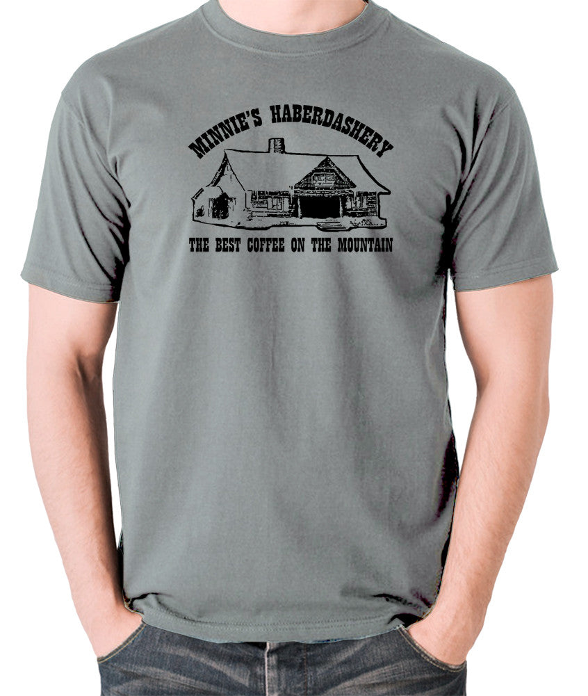 The Hateful Eight - The Best Coffee On The Mountain - T Shirt grey
