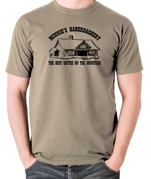 The Hateful Eight - The Best Coffee On The Mountain - T Shirt khaki