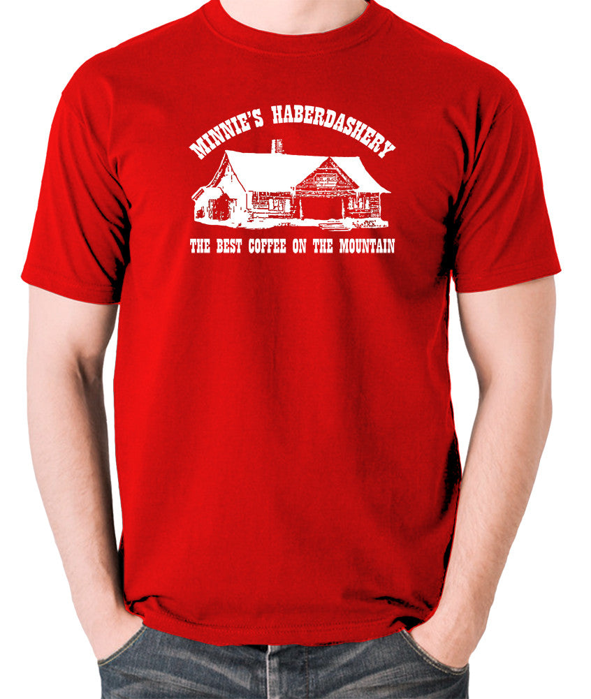 The Hateful Eight - The Best Coffee On The Mountain - T Shirt red