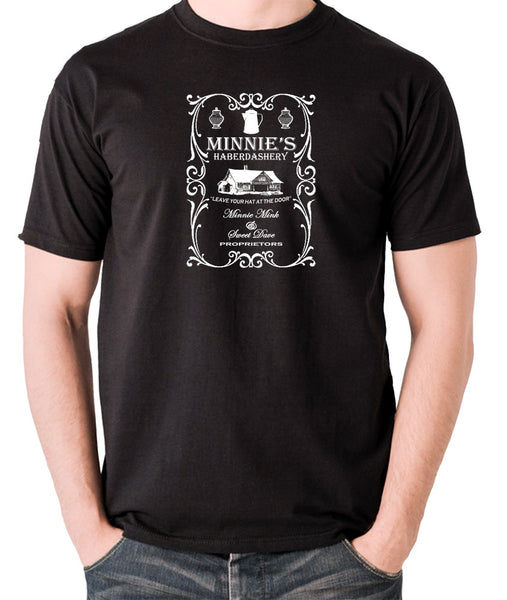 The Hateful Eight - Minnie's Haberdashery - Men's T Shirt black