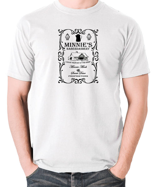 The Hateful Eight - Minnie's Haberdashery - Men's T Shirt white