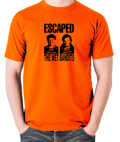 Home Alone - Escaped, The Wet Bandits - Men's T Shirt - orange