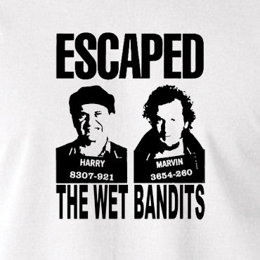 Home Alone - Escaped, The Wet Bandits - Men's T Shirt