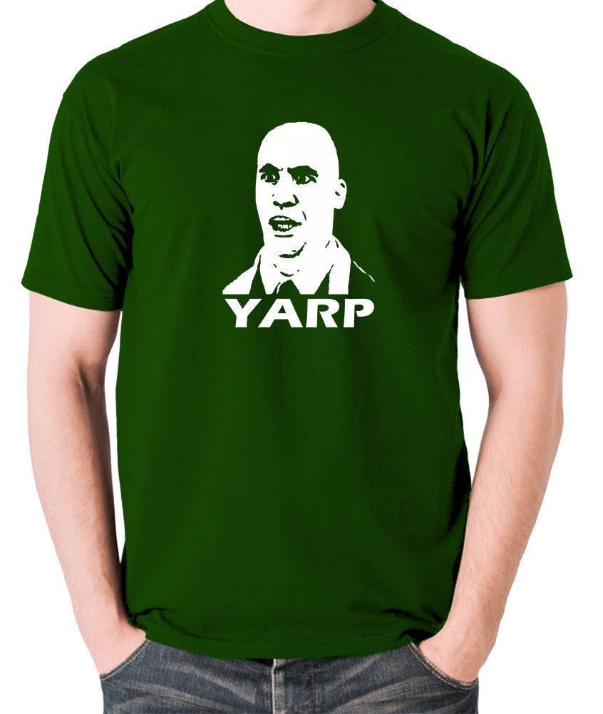 Hot Fuzz - Michael Armstrong, Yarp - Men's T Shirt - green