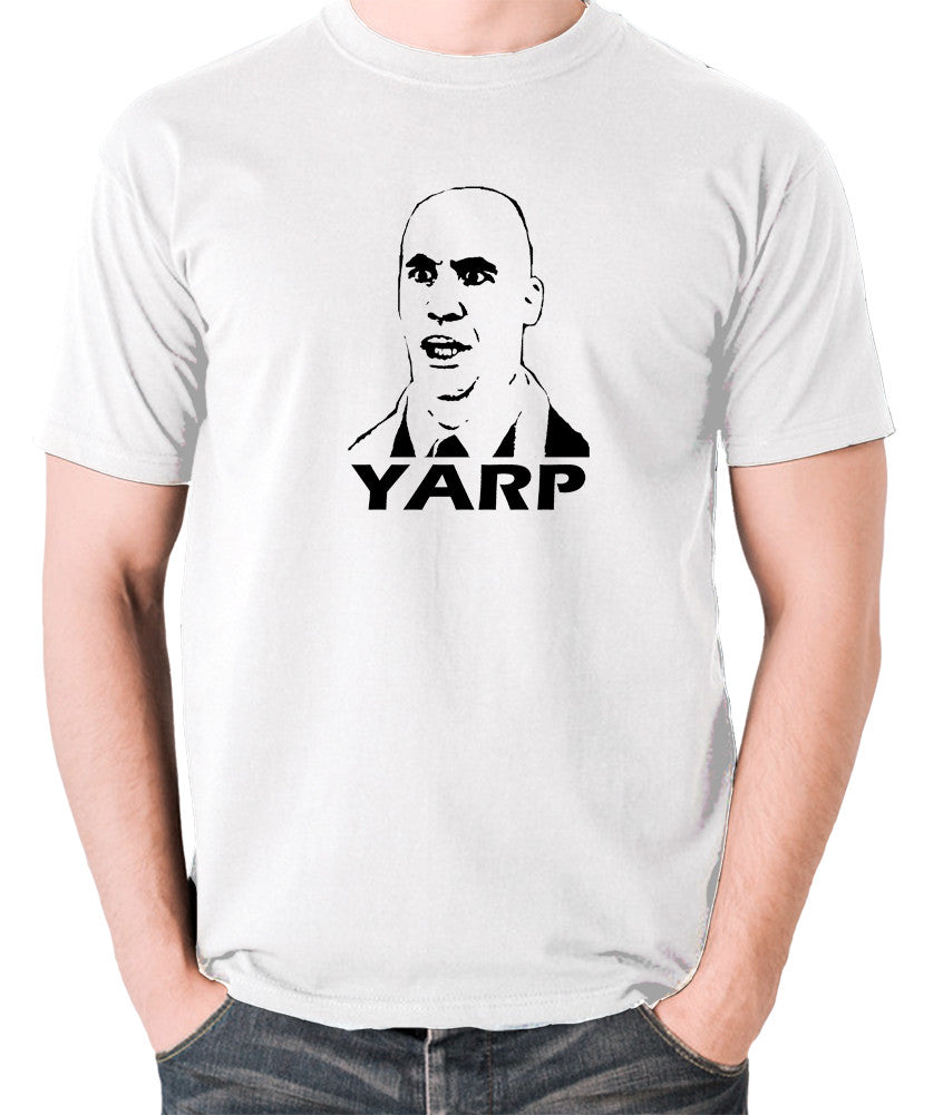 Hot Fuzz - Michael Armstrong, Yarp - Men's T Shirt - white