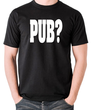 Hot Fuzz - PUB? - Men's T Shirt - black