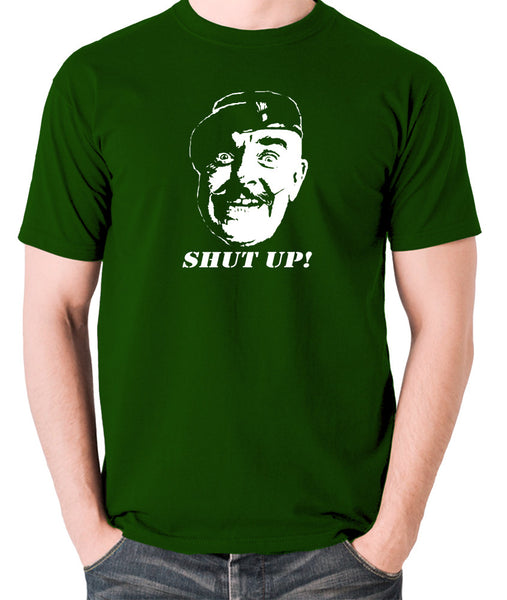 It Ain't Half Hot Mum - Sgt Major Williams, Shut Up! - Men's T Shirt - green