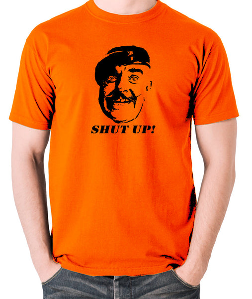 It Ain't Half Hot Mum - Sgt Major Williams, Shut Up! - Men's T Shirt - orange