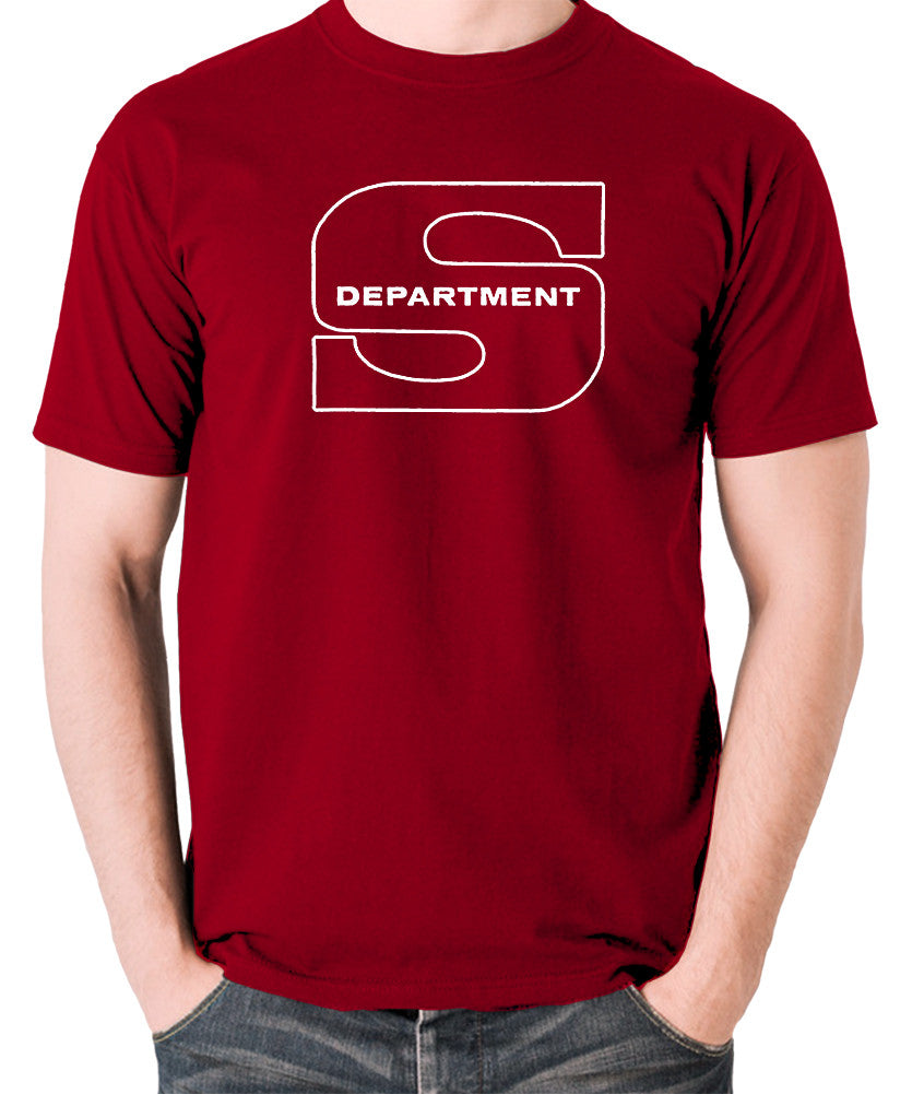 Department S, Jason King - Logo - Men's T Shirt - brick red