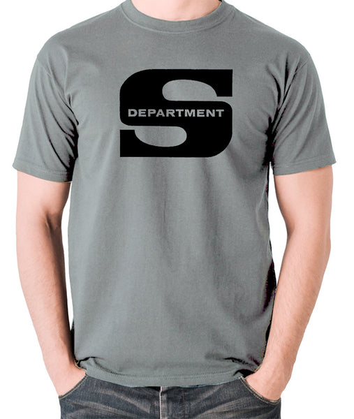 Department S, Jason King - Logo - Men's T Shirt - grey