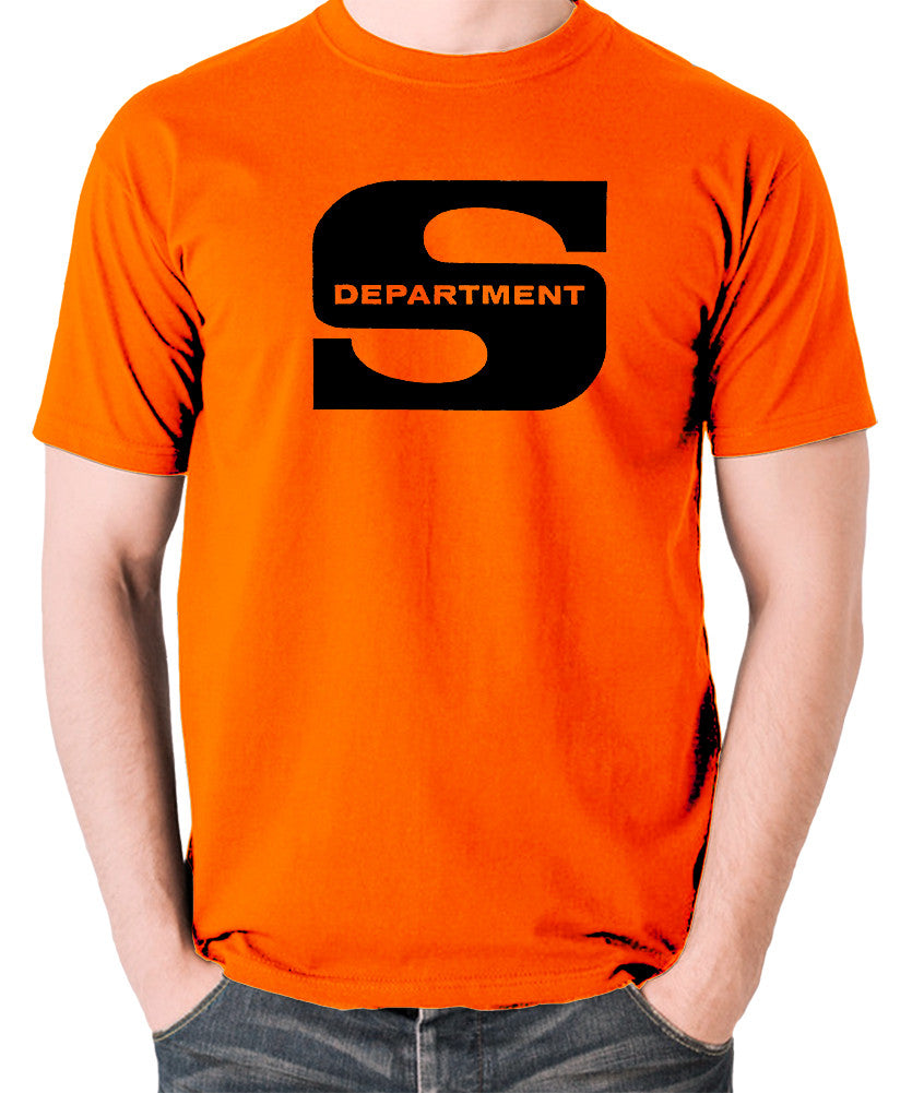Department S, Jason King - Logo - Men's T Shirt - orange