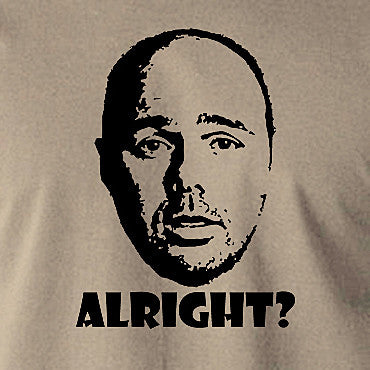 Karl Pilkington, Idiot Abroad, Ricky Gervais Show - Alright - Men's T Shirt