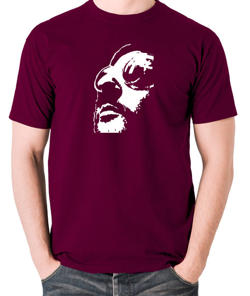 Leon The Professional - Men's T Shirt - burgundy