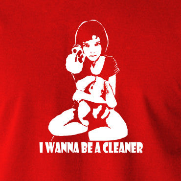 Leon The Professional - Mathilda, I Wanna Be A Cleaner - Men's T Shirt