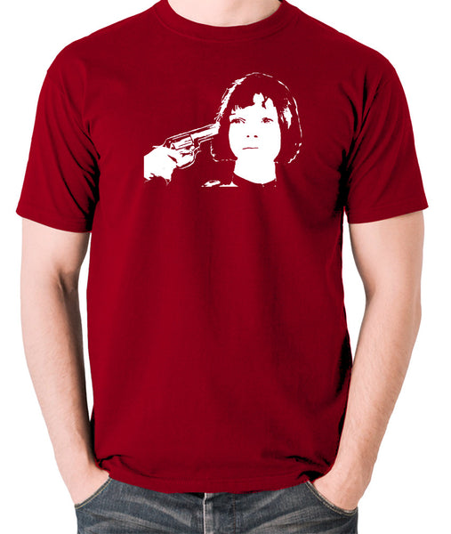 Leon The Professional - Mathilda, Russian Roulette - Men's T Shirt - brick red