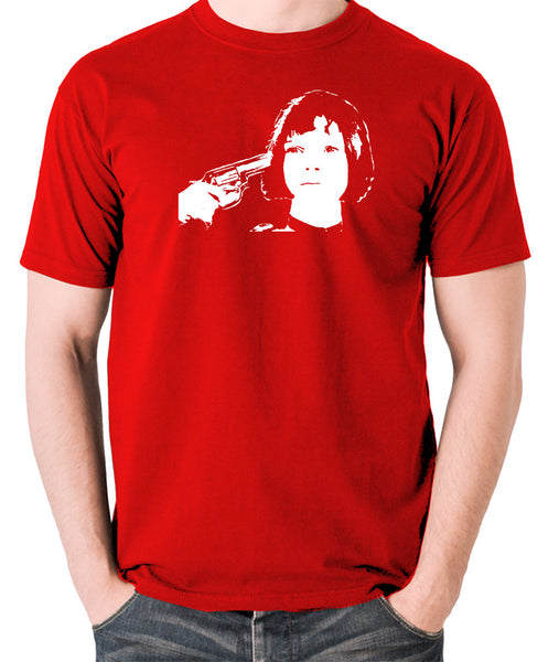 Leon The Professional - Mathilda, Russian Roulette - Men's T Shirt - red