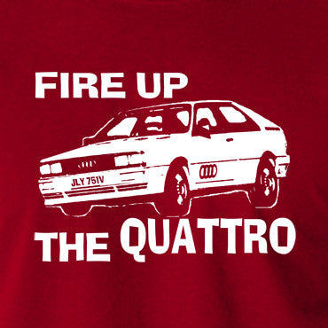 Life On Mars - Ashes To Ashes, Fire Up The Quattro - Men's T Shirt