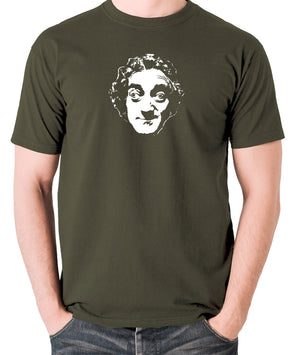 Marty Feldman - Men's T Shirt - olive
