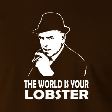Minder - Arthur Daley, The World Is Your Lobster - Men's T Shirt
