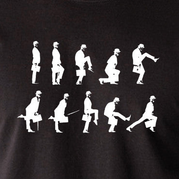 9830eca4 Monty Python's Flying Circus - Ministry of Silly Walks - Men's T Shirt