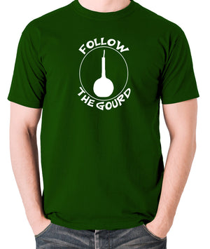 Monty Python's Life Of Brian - Follow the Gourd - Men's T Shirt - green