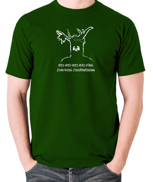 Monty Python and the Holy Grail - The Knights Who Say Ekki Ekki - Men's T Shirt - green