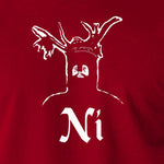 Monty Python and the Holy Grail - The Knights Who Say Ni - Men's T Shirt