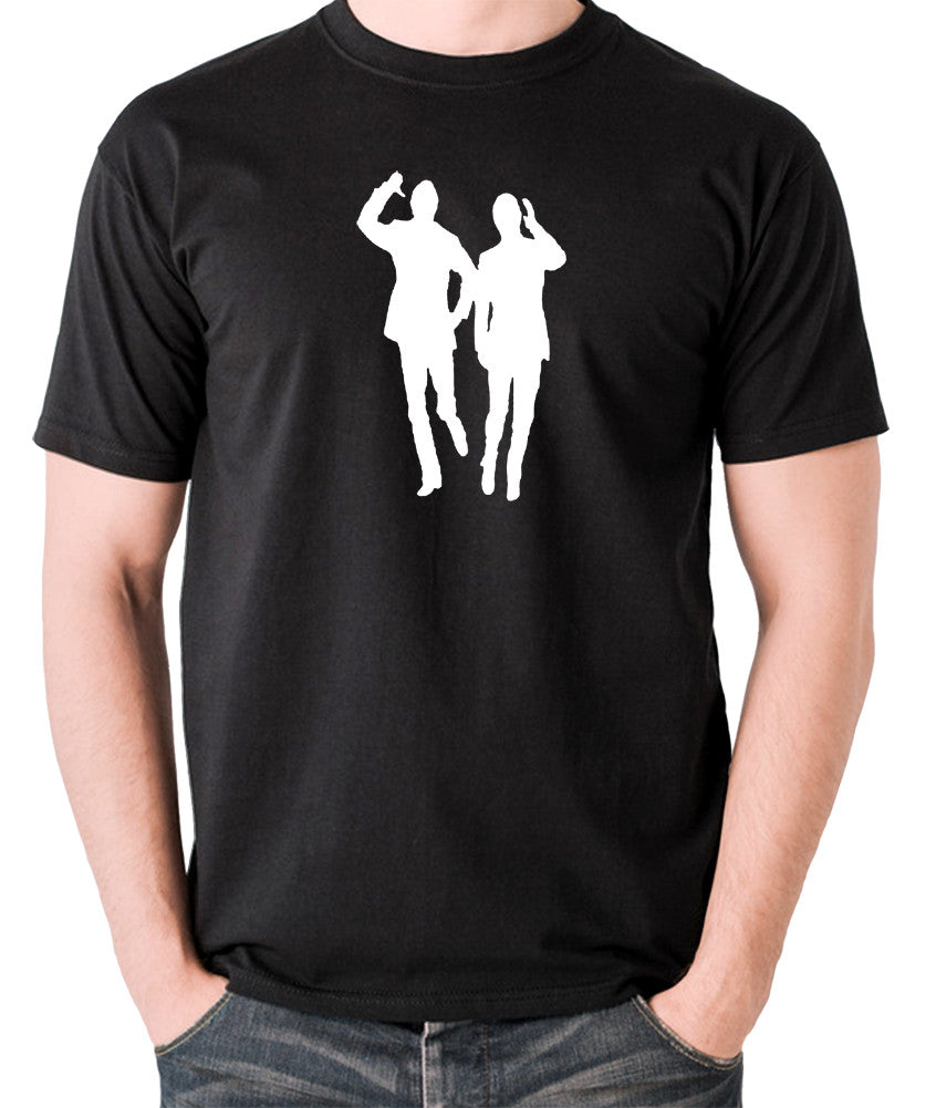 Morecambe And Wise - Eric & Ernie, Bring Me Sunshine - Men's T Shirt - black