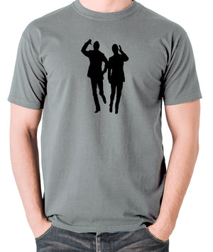Morecambe And Wise - Eric & Ernie, Bring Me Sunshine - Men's T Shirt - grey