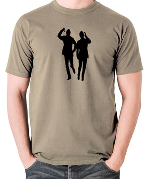 Morecambe And Wise - Eric & Ernie, Bring Me Sunshine - Men's T Shirt - khaki