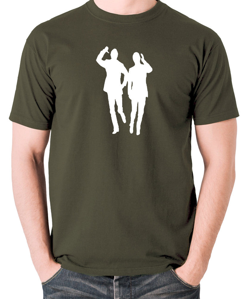 Morecambe And Wise - Eric & Ernie, Bring Me Sunshine - Men's T Shirt - olive