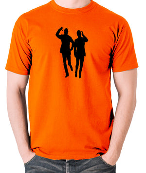 Morecambe And Wise - Eric & Ernie, Bring Me Sunshine - Men's T Shirt - orange