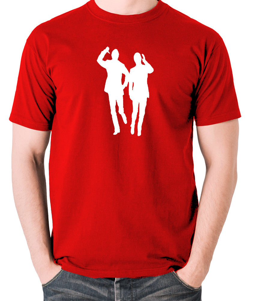 Morecambe And Wise - Eric & Ernie, Bring Me Sunshine - Men's T Shirt - red