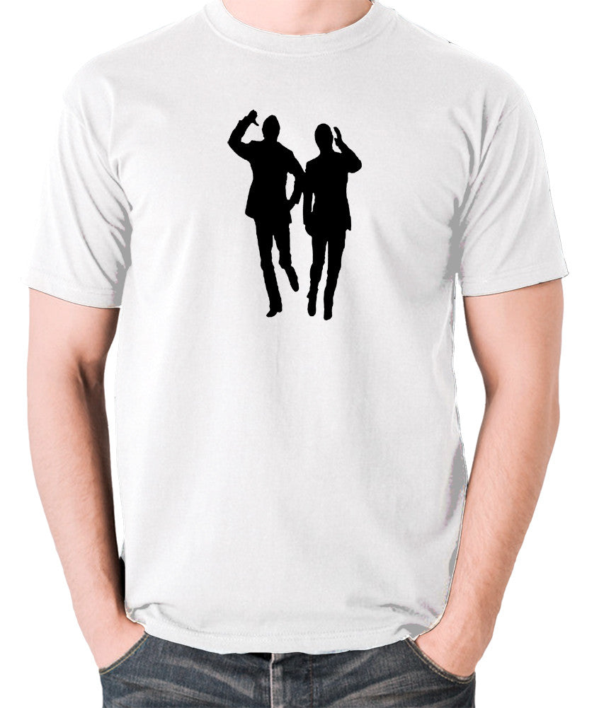 Morecambe And Wise - Eric & Ernie, Bring Me Sunshine - Men's T Shirt - white