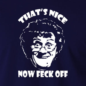 Mrs Brown's Boys - That's Nice Now Feck Off - Men's T Shirt