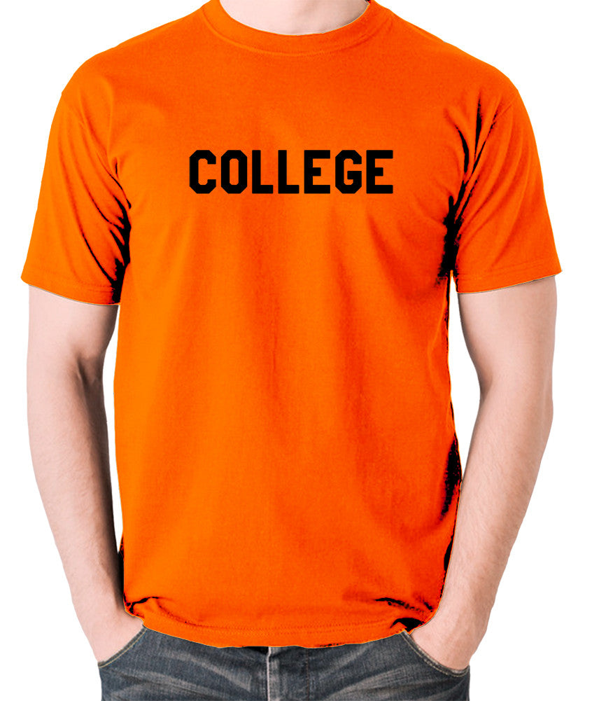 National Lampoon's Animal House - College - Men's T Shirt - orange