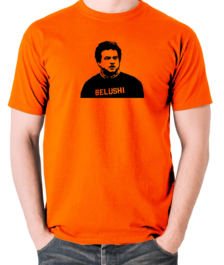 National Lampoon's Animal House - Belushi - Men's T Shirt - orange