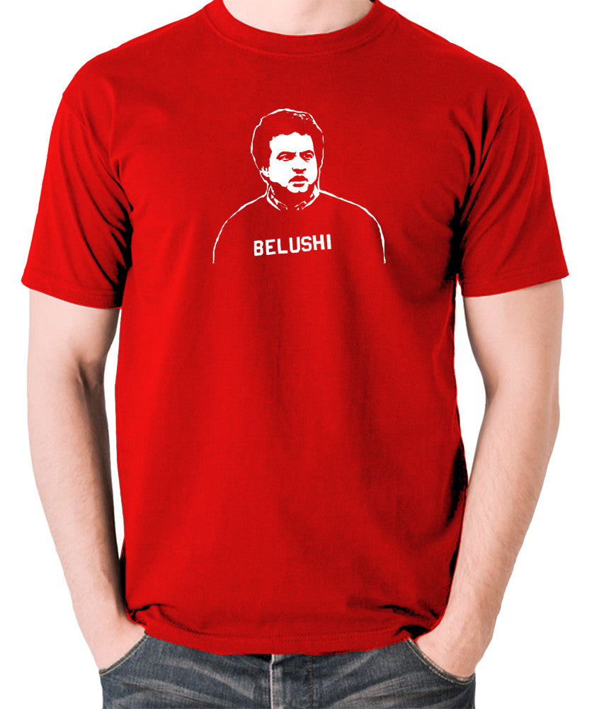 National Lampoon's Animal House - Belushi - Men's T Shirt - red