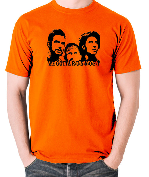 O Brother Where Art Thou? - Soggy Bottom Boys, We Gotta RUNNOFT - Men's T Shirt - orange