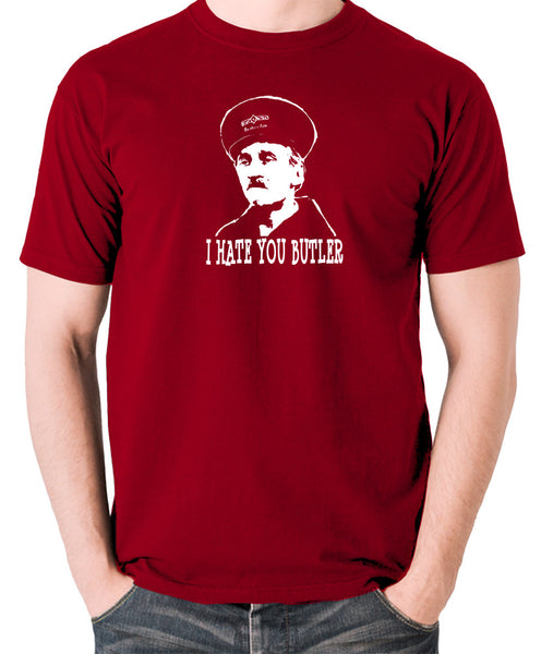 On The Buses - Blakey, I Hate You Butler - Men's T Shirt - brick red