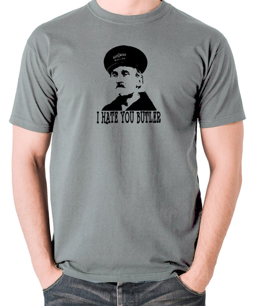 On The Buses - Blakey, I Hate You Butler - Men's T Shirt - grey