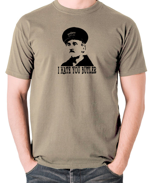 On The Buses - Blakey, I Hate You Butler - Men's T Shirt - khaki