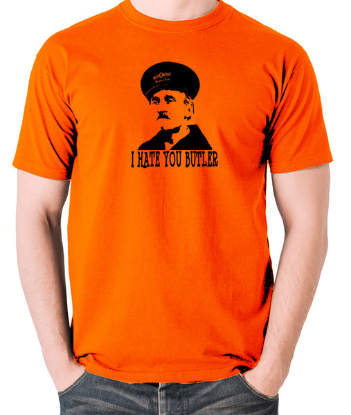 On The Buses - Blakey, I Hate You Butler - Men's T Shirt - orange