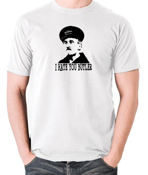 On The Buses - Blakey, I Hate You Butler - Men's T Shirt - white
