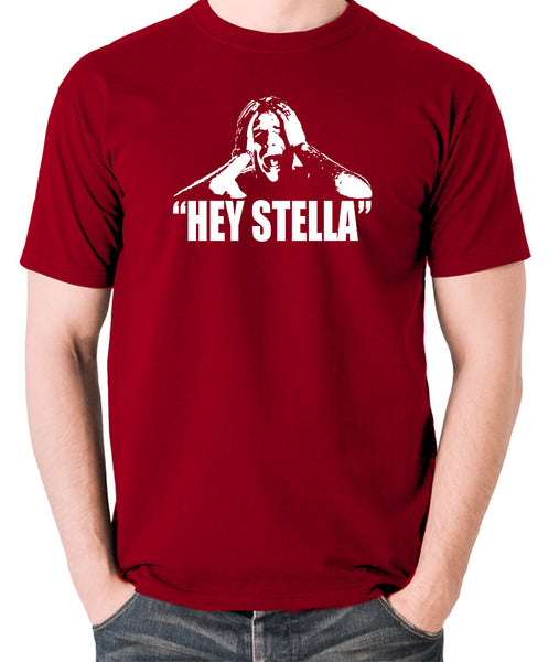 On the Waterfront - Terry Malloy, Hey Stella - Men's T Shirt - brick red