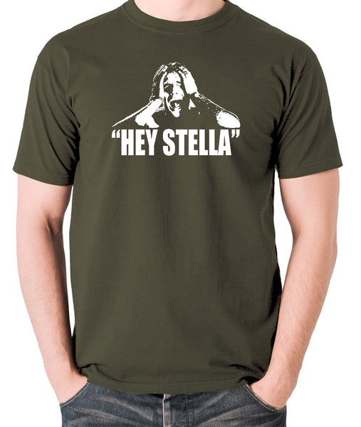 On the Waterfront - Terry Malloy, Hey Stella - Men's T Shirt - olive