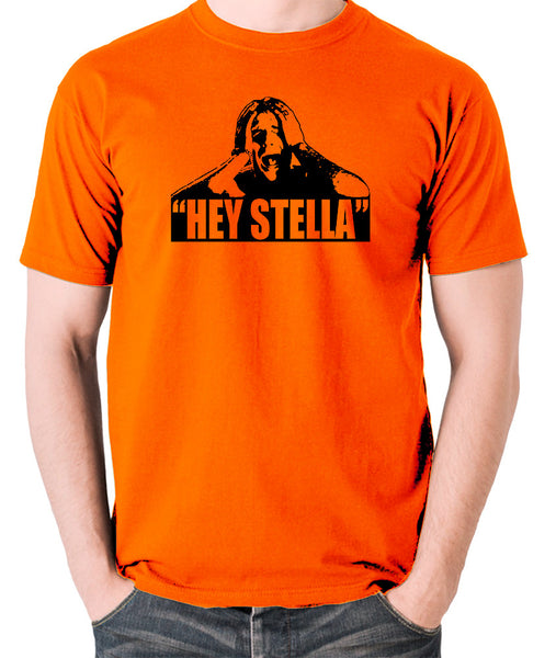 On the Waterfront - Terry Malloy, Hey Stella - Men's T Shirt - orange